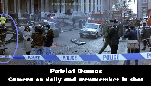 Patriot Games mistake picture