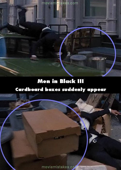 Men in Black III mistake picture