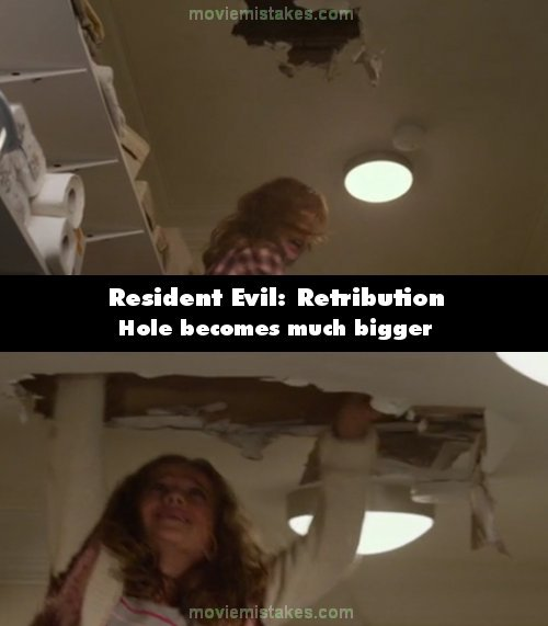 Resident Evil: Retribution mistake picture