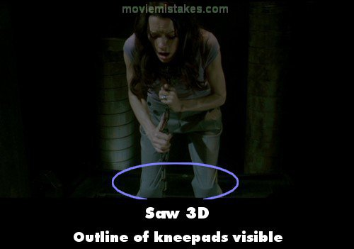 Saw 3D mistake picture