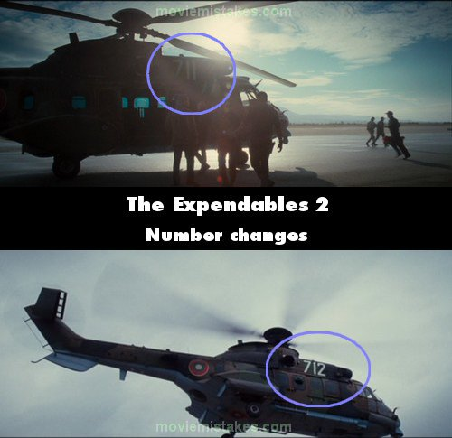 The Expendables 2 mistake picture