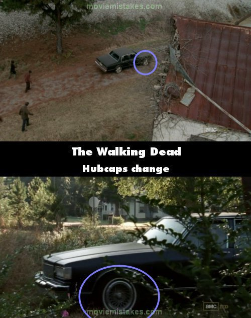The Walking Dead mistake picture