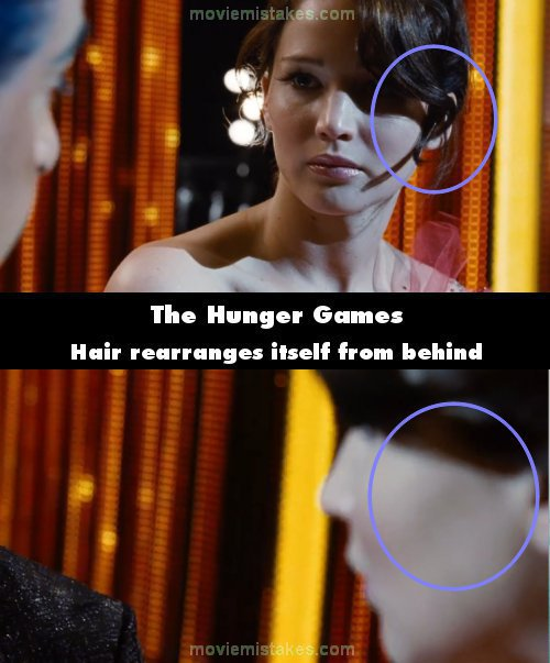 The Hunger Games movie mistakes, goofs and bloopers