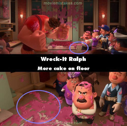Wreck-It Ralph mistake picture