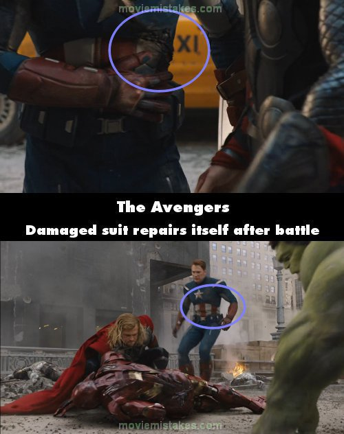 The Avengers movie mistake picture 6