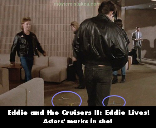 Eddie and the Cruisers II: Eddie Lives! mistake picture
