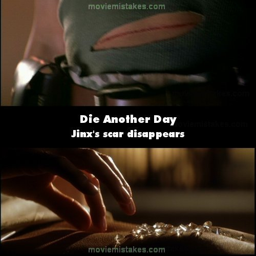Die Another Day mistake picture