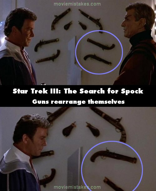 Star Trek III: The Search for Spock mistake picture