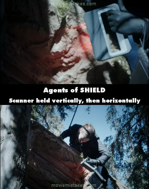 Agents of SHIELD mistake picture