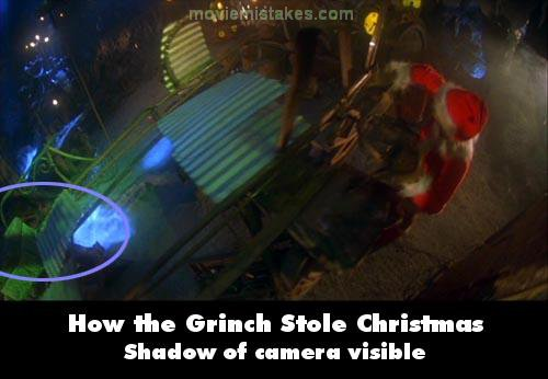 How the Grinch Stole Christmas mistake picture