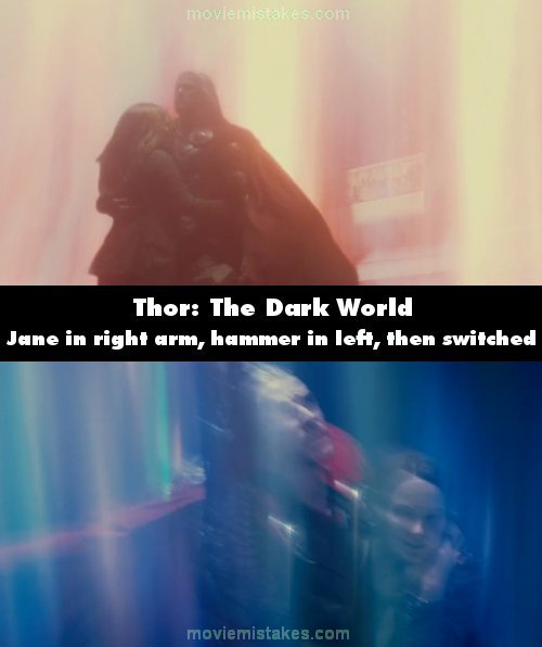 Thor: The Dark World mistake picture