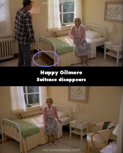 Happy Gilmore mistake picture