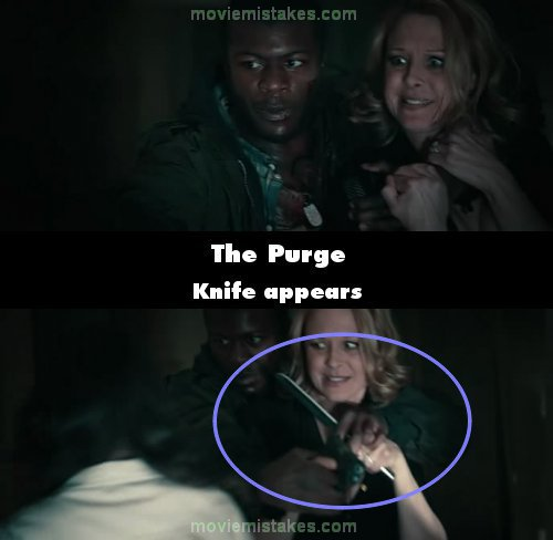 Quotes From The Purge Unique The Purge 2013 Movie Mistake Picture Id 201275