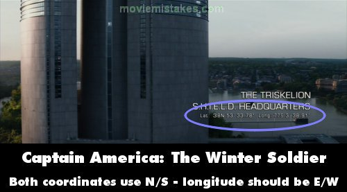 Captain America: The Winter Soldier movie mistakes, goofs and ...