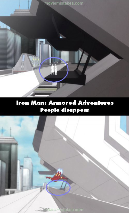 Iron Man: Armored Adventures mistake picture