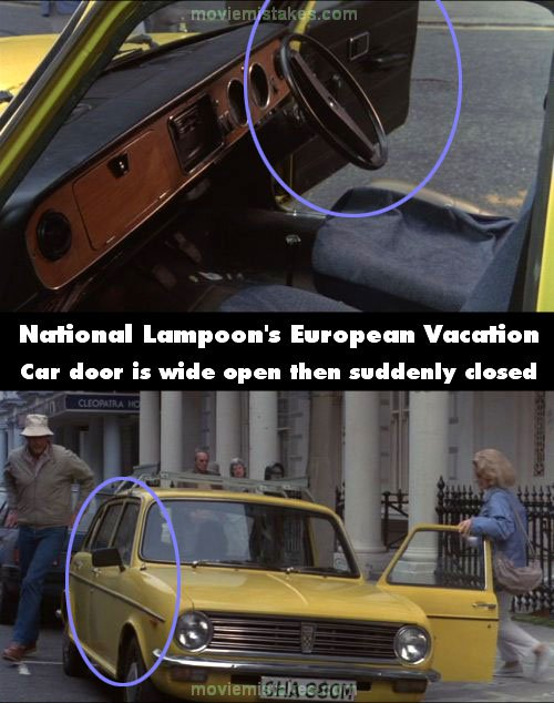 national lampoon s european vacation movie mistake picture