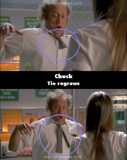 Chuck mistake picture