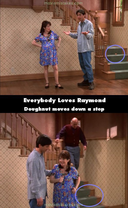 Everybody Loves Raymond mistake picture