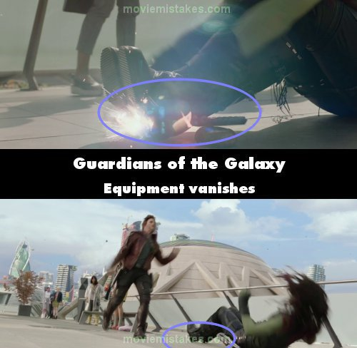 Guardians of the Galaxy mistake picture