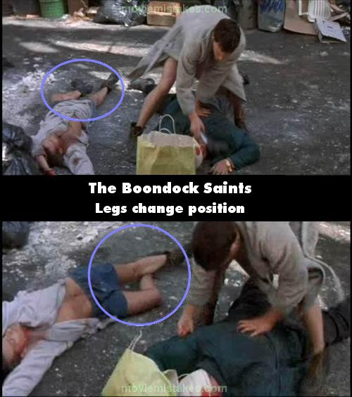 The Boondock Saints mistake picture