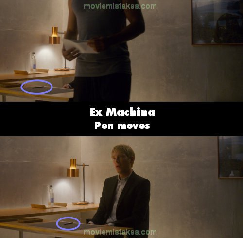 Ex Machina mistake picture