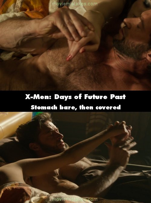 X-Men: Days of Future Past mistake picture