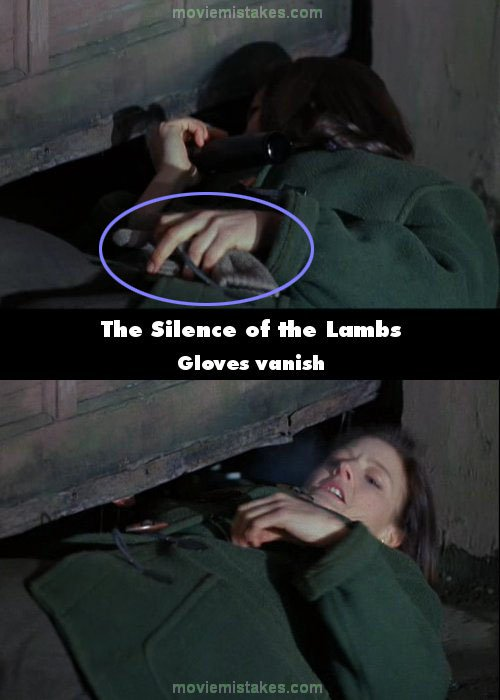 The Silence of the Lambs mistake picture