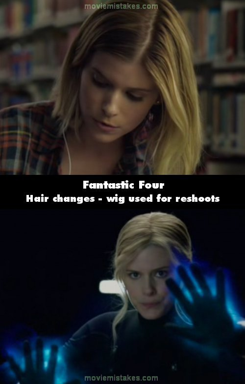 Fantastic Four mistake picture