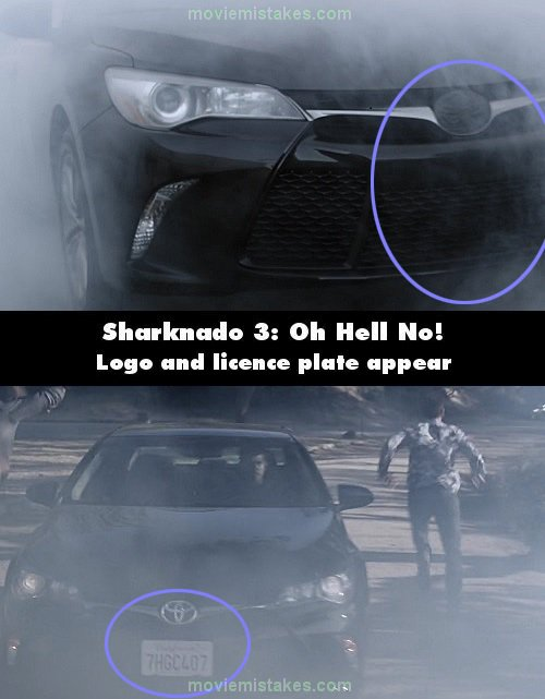 Sharknado 3: Oh Hell No! mistake picture