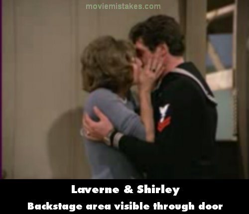 Laverne & Shirley mistake picture