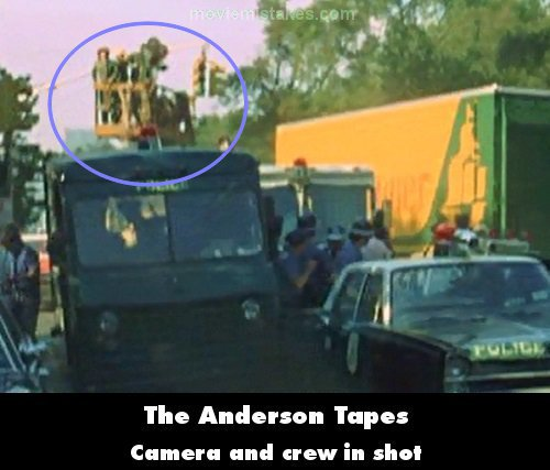 The Anderson Tapes mistake picture