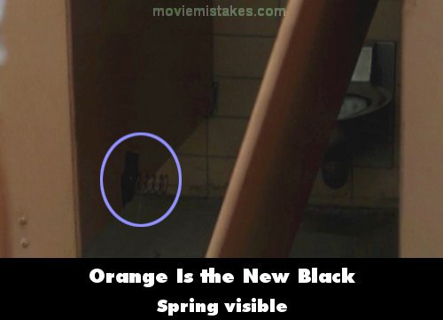 Orange Is the New Black mistake picture