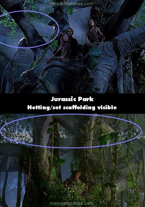 Jurassic Park mistake picture