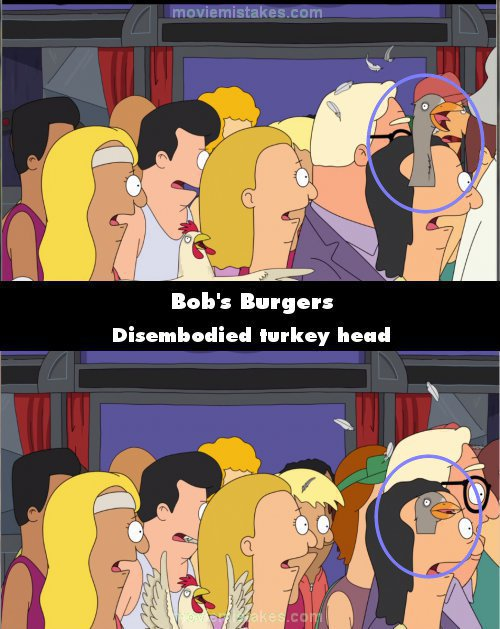 Bob's Burgers mistake picture