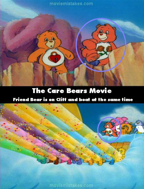 The Care Bears Movie movie mistake picture 4