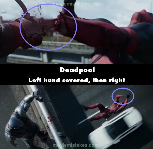 Deadpool mistake picture