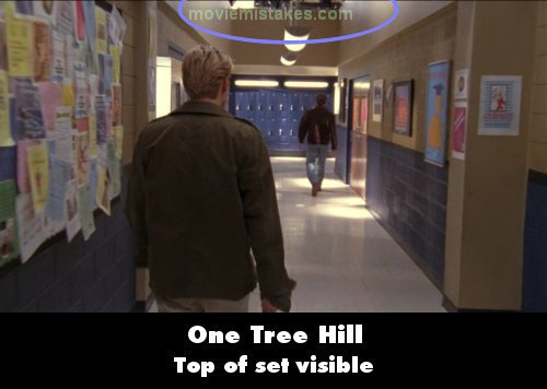 One Tree Hill mistake picture