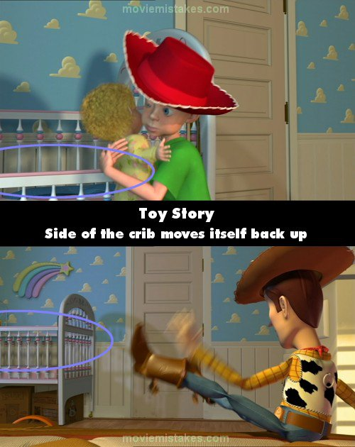 toy story 1995 movie mistake picture id 22447