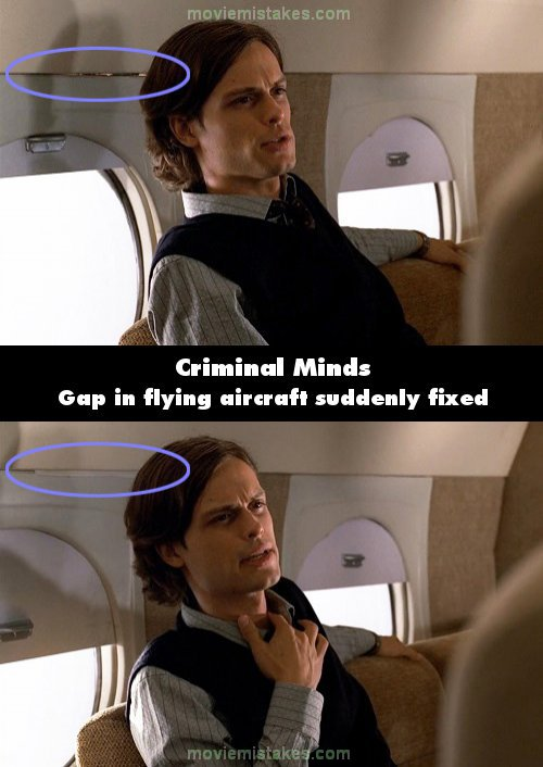 Criminal Minds mistake picture