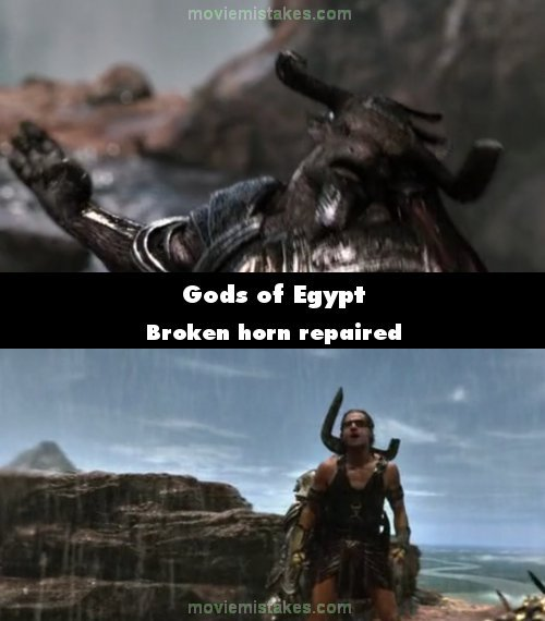 Gods of Egypt mistake picture