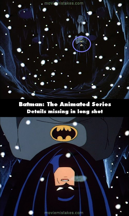 Batman: The Animated Series mistake picture