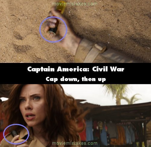 Captain America: Civil War mistake picture