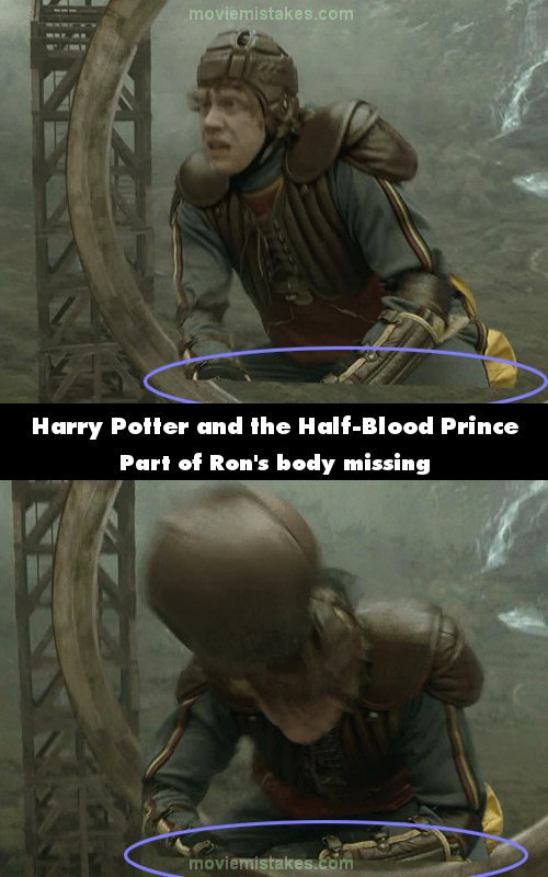 Harry Potter and the Half-Blood Prince mistake picture