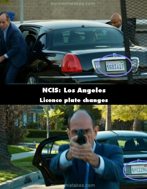 NCIS: Los Angeles mistake picture