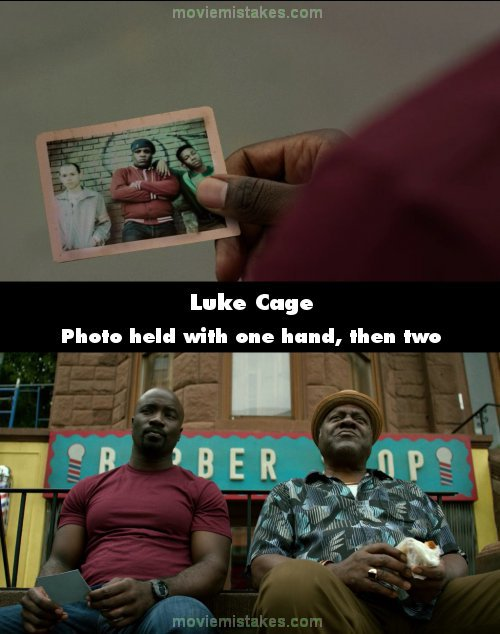 Luke Cage mistake picture