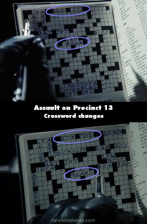 Assault on Precinct 13 mistake picture