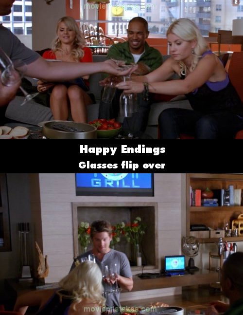 Happy Endings mistake picture