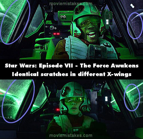 Star Wars: The Force Awakens mistake picture