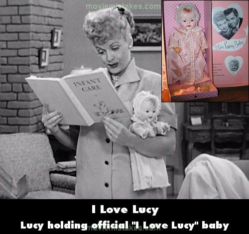 I Love Lucy mistake picture