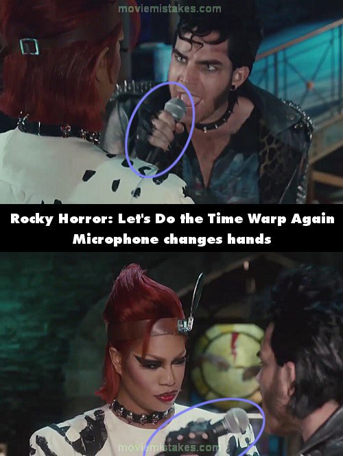 The Rocky Horror Picture Show: Let's Do the Time Warp Again mistake picture